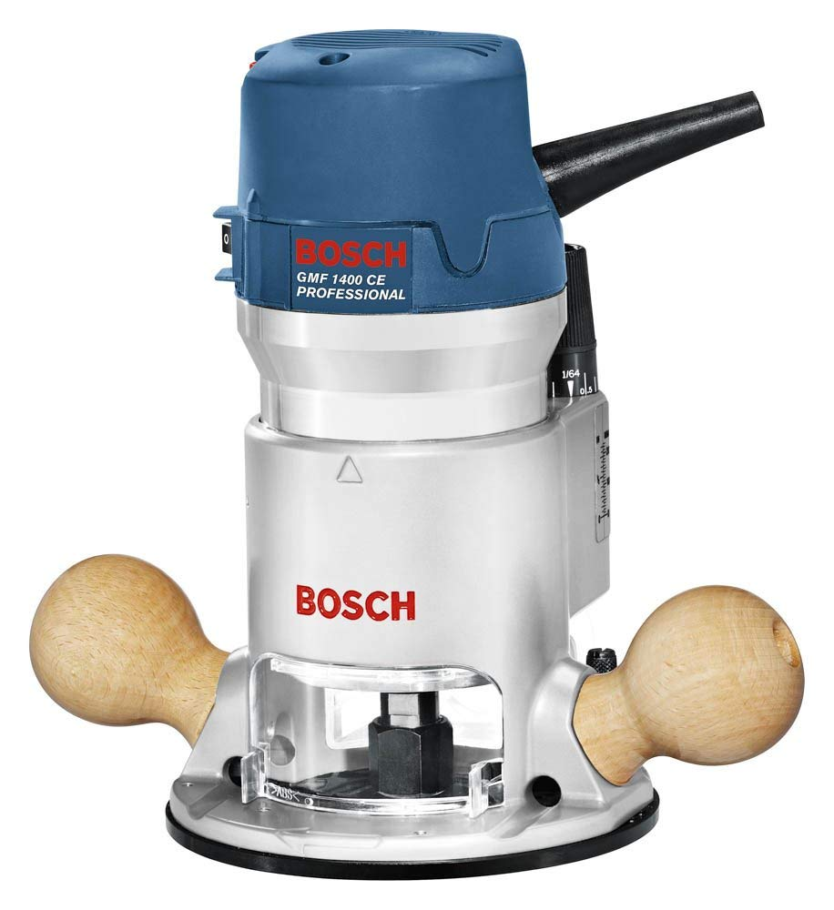 [Bosch] Bosch 12 Amp 2-1/4 HP Variable-Speed 1617EVS with 1/4-Inch and 1/2-Inch Collets